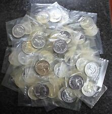 (40) 1961 Washington Proof Silver Quarters 1 Roll 90% Silver Sealed Mint Cello