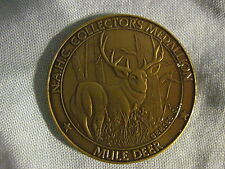 MULE DEER North American Hunting Club Coin NAHC Medallion BIG GAME SERIES