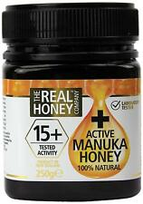New Zealand The Real Honey Company Manuka Honey Active 15+ - 250g