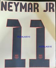 NEYMAR # 11 Barcelona FC AWAY 2013-2014 Official Name Set Sipesa