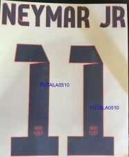 NEYMAR  Barcelona FC AWAY   2013-2014 Official Name Set Sipesa