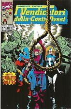 COMICS - Marvel Extra N° 11 Presenta: I Vendicatori della Costa Ovest - USATO