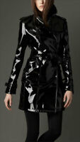 Classic Fit Vinyl Trench Raincoat Women's Trench Coat All sizes