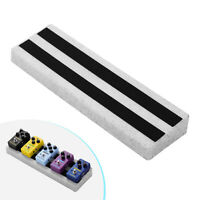 Rockhouse RPB-3 Small Portable Guitar Effect Pedal Board with Linking Tapes M1O1