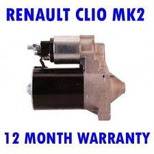 Renault clio mk2 mk II 1.2 1998 1999 2000 2001 2002 - 2015 starter motor