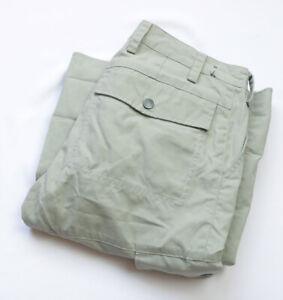 Fjallraven Karla G-1000 trousers womens size 36 Small UK 8 W30 Raw khaki 89067