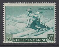 SAN MARINO 1953 Sport - Skying -  MNH** cv 145$ - Sassone n.A111