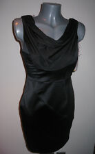 *LIPSY* Stunning Black Cowl Neck Cocktail Party Dress - BNWT 8