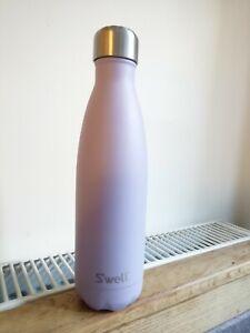 NEW S'well purple Garnet stylish Metal water Bottle flask £35 Gym reusable