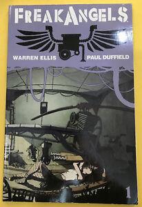 FreakAngels GN TPB Warren Ellis Paul Duffield Anime TV Series Coming 1
