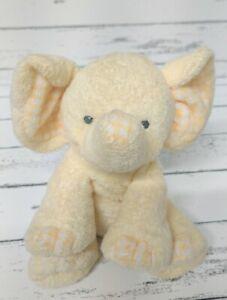 Ty P'Nut Yellow Elephant Soft Eyes Plush Stuffed Animal Toy