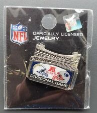 Los Angeles Chargers VS New England Patriots 1/13/18 Game Day Pin Divisional Pin