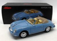 Schuco 1/18 Scale Diecast 45 003 1100 - Porsche 356 A Cabriolet - Blue