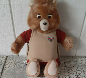 Teddy Ruxpin Doll 1985 Vintage Worlds Of Wonder WOW - Excellent Used Condition!