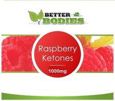 60 Raspberry Ketones 1000mg Super Strength Weight Loss Management Diet capsules