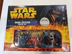 Star Wars Saga Edition Chess Set (2005) Collector's Item