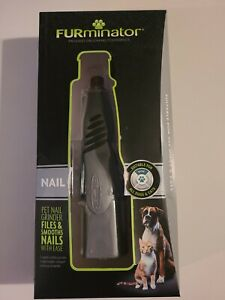 Furminator Nail Grinder Professional Grooming Tool for Pets - New In Sealed Box