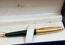 Waterman  Edson Emerald  Green Ballpoint Pen New In Box