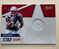 Jersey Card 2011 Absolute Memorabilia Star Gazing Materials Card #9 Shane Vereen
