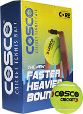 CRICKET TENNIS BALL LIGHT WEIGHT COSCO PACK OF 6 BALLS