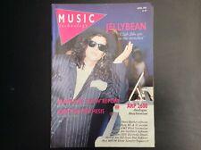 Music Technology Magazine April 1988 Jellybean Art Of Noise Akai Mpc60 ARP 2600