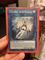 Yugioh Yuki-Onna, the Ice Mayakashi X3 1st Edition Secret Rare MINT/FRESH