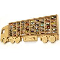 Toy car storage Hot Wheels Matchbox toy cars shelf PERSONALISED gift idea boys
