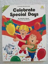Celebrate Special Days Ages 6-11 Religious Hand Illus Hierstein SB