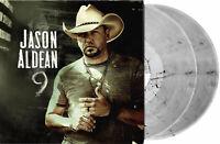 Jason Aldean - 9 Exclusive Limited Edition Smoke Grey Colored 2x Vinyl LP