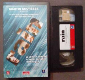 VHS Film Ita Thriller RAIN Martin Scorsese Katherine Lindberg no dvd cd lp(V59)°