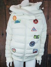 NEW Paul Frank Puffer  Jacket XL Astronaut Space Coat We Come in Peas RARE