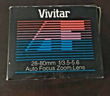 Vivitar AF 28-80mm f/3.5-5.6 for Nikon AF Lens - Brand New in Box