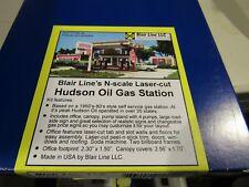 Blair Line N Scale Hudson's Oil Gas Station  Kit  #1002   Bob The Train Guy
