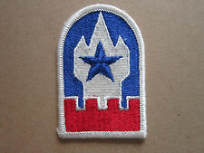 Engineer Command Europe US Army Woven Cloth Patch Badge