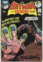 Batman With Robin #231 1971 VG Signed Neal Adams DC Comics Free Bag/Board