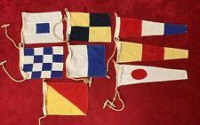 Vtg International Maritime Signal Flags Navy Ship Freighter