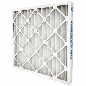 AIR HANDLER 5W512 Pleated Air Filter 20x25x1 MERV7 Standard Capacity (Lot of 12)