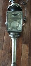 Antique carriage lamp wall sconce