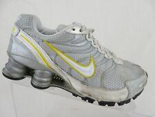 NIKE Shox NZ Livestrong Grey/Yellow Sz 6 Women Running Shoes