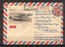 Stationery C16 Russia 1964 Cover addressed Airmail Aviation Plane Airport