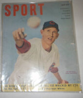 Sport Magazine Ewell Blackwell & Boudreau July 1951 NO ML 072414R