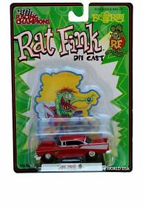 "Racing Champions Rat Fink '57 Chevy Ed ""Big Daddy"" Roth"