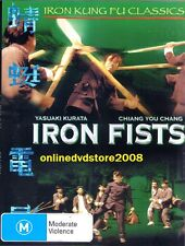 IRON FISTS - Martial Arts ACTION Karate Fighter Kung Fu Film DVD (NEW SEALED)