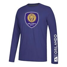 "Orlando City SC MLS Adidas Purple ""Keeper"" Long Sleeve T-Shirt"