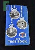 1972 Time Book UTU Railway Vintage Railroad