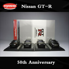 1/64 Kyosho Model 50th Anniversary Nisaan GT-R R32 R33 R34 4PCS Sets Initial D