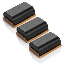 3 Pack LP-E6 Replace Battery For Canon EOS 7D 70D 6D 60D 5D Mark II 5D Mark III