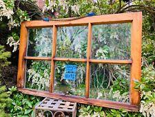 Vintage Antique Rare 6 panes Window sash 36 x 23  from 1908