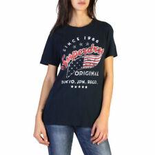 Camisas, camisetas y tops de mujer Superdry de algodón