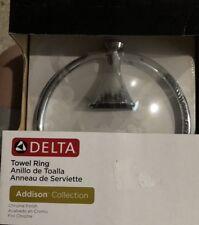 Delta Faucet 79246 Addison Towel Ring Polished Chrome